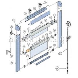 Box βάση αλουμινίου και πλαίνοι οδηγοί στήριξης