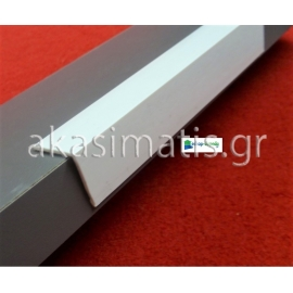 Προστατευτικές γωνίες προφίλ τοίχου 2,3 Χ 2,3 cm