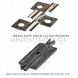 Πλαστικό κλιπ ένωσης συνθετικών deck wpc δαπέδων
